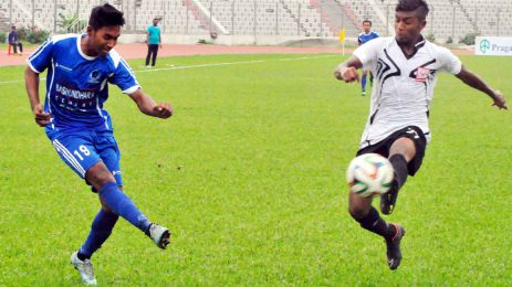 Sheikh Russel post 2-1 victory over Arambagh