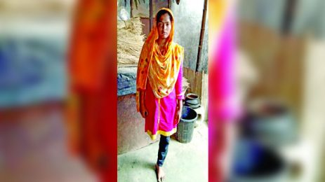 Bashundhara Group vice-chairman stands by one-legged girl