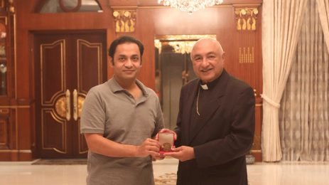 Vatican Ambassador pays courtesy call on Bashundhara Group Managing Director