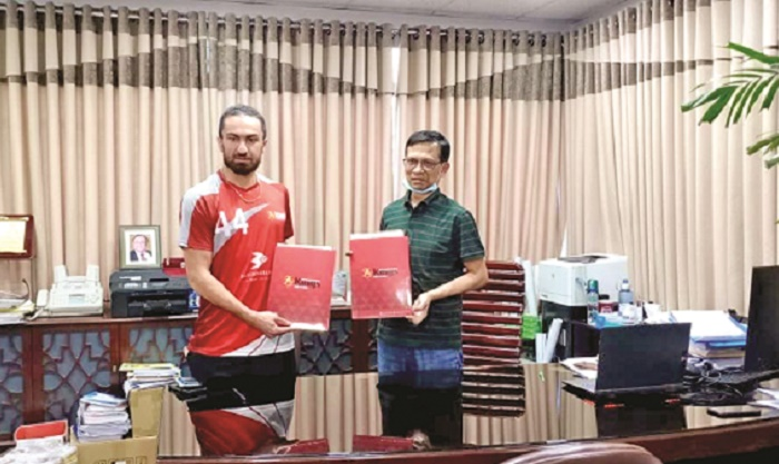 Bashundhara Kings signs deal with Shafiei