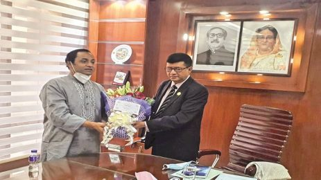 Bashundhara Group Managing Director meets BPC Chairman