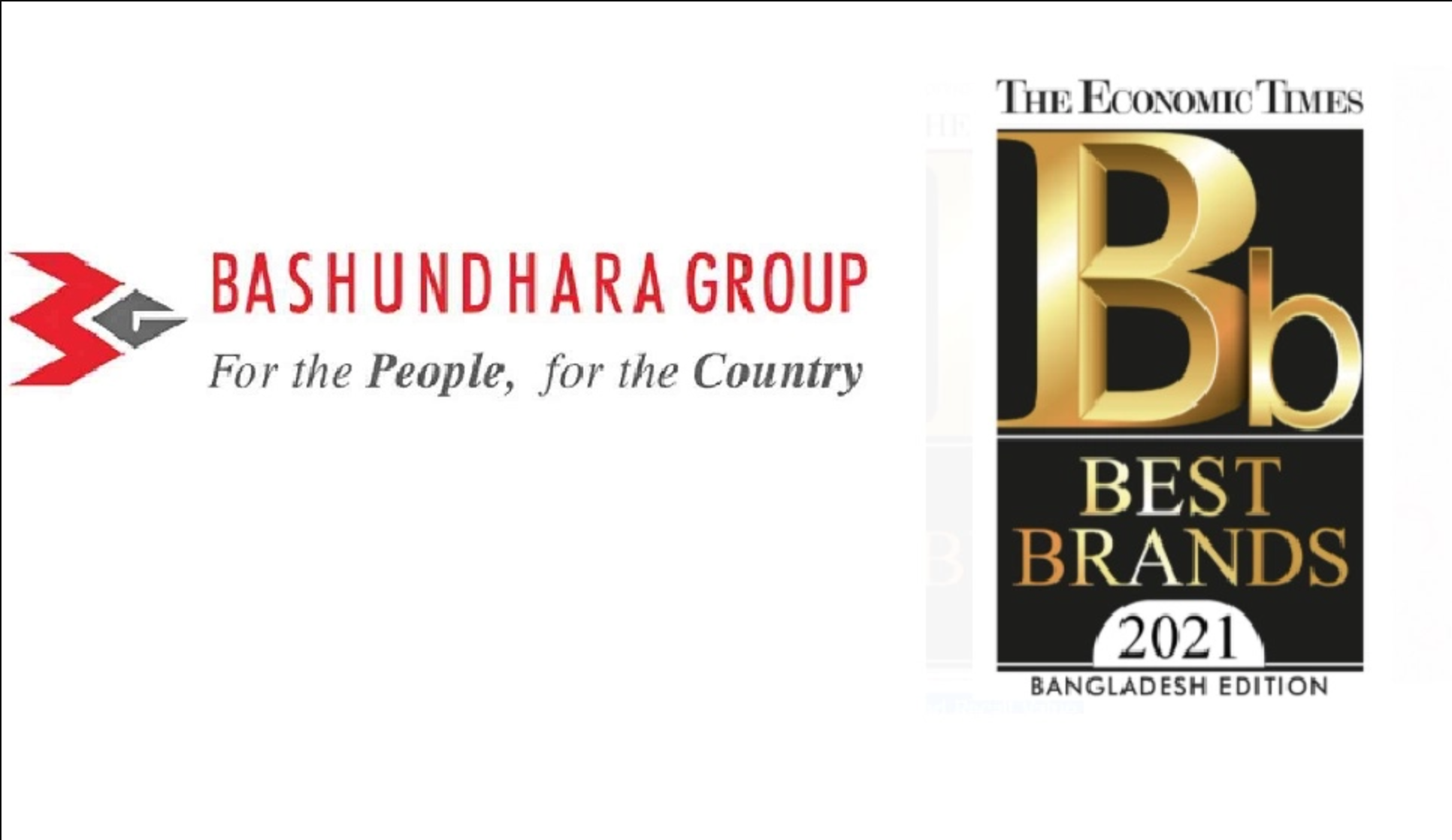 Bashundhara Group recognized with 'Best Brand 2021' status