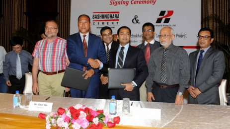 Bashundhara to supply cement for Payra Bridge, deal signed