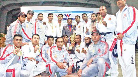 Bashundhara Group clinch Taekwondo title