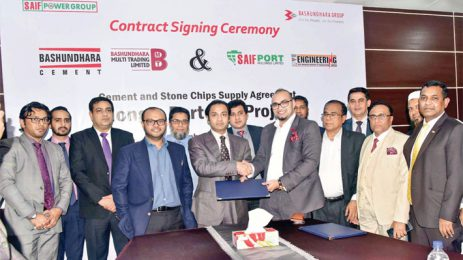 Sayem Sobhan Anvir and Saif PowerTec Signed an Agreement