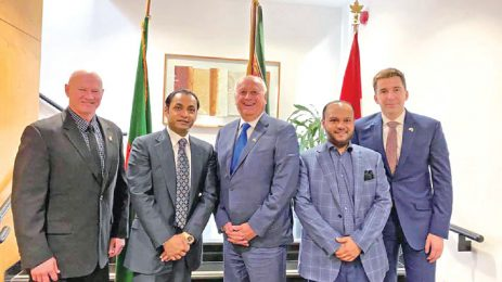 Canada Province Agri Minister Meets Sayem Sobhan Anvir