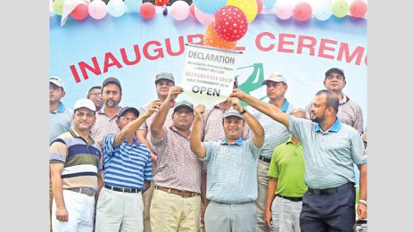 Bashundhara Cup Golf Tournament 2016 concludes in Rangpur