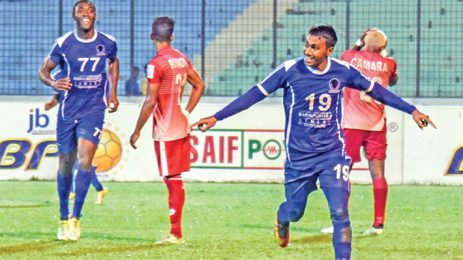 Sheikh Russel rout Soccer Club