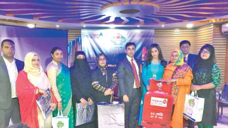 Bashundhara LP Gas holds safety campaign in Mymensingh