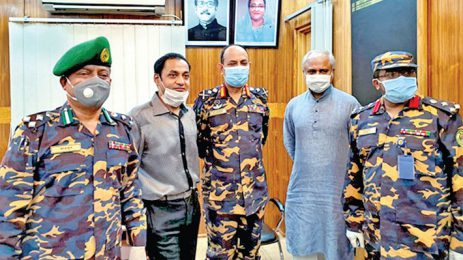 Bashundhara Group provides face masks, PPE for Ansar & VDP