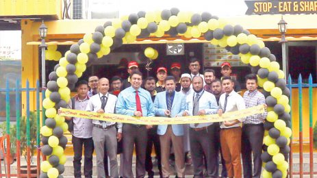 Baba Rafi inaugurate its double-deck container kebab outlet