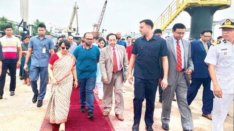 New trade era — Bhutanese ship arrives in Bangladesh using Indian waterway