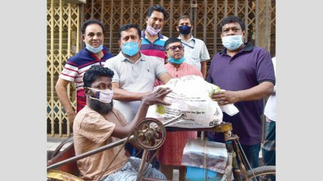 Bashundhara Group stands by the poor