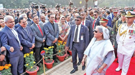 Sayem Sobhan Anvir Was Present at the Programme of Armed Forces Day