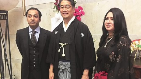 Sayem Sobhan Anvir and Sabrina Sobhan were Warmly Welcomed by Japanese Ambassador