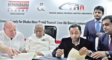 Sayem Sobhan Anvir signs separate agreements with Abdul Monem Limited