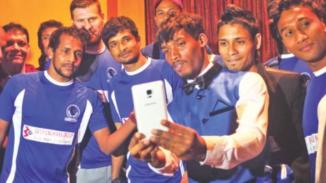 Special fitness regime for Sheikh Russel KC's seven