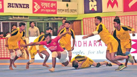 Bashundhara Group Independence Cup Kabaddi ends today