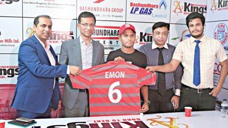 Emon Babu in Bashundhara Kings' camp