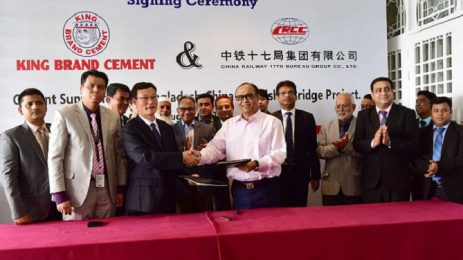 King Brand Cement to be used in 8th Friendship Bridge
