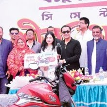 Sayem Sobhan Anvir attended at the Bashundhara Cement Winter Fest