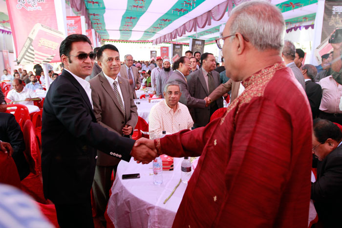 Sayem Sobhan Anvir Inaugurated The Bashundhara Cement factory