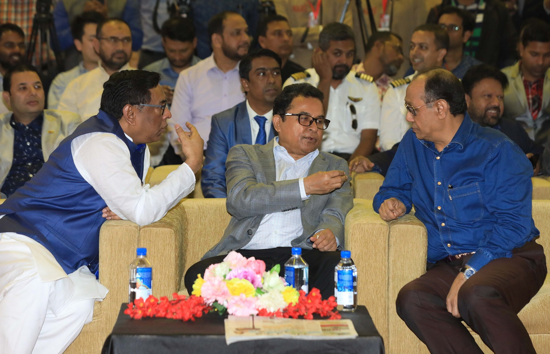 Sayem Sobhan Anvir Was at Inaugural Ceremony of Bashundhara Bitumen Plant